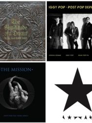 Os Melhores álbuns do Rock Internacional de 2016.