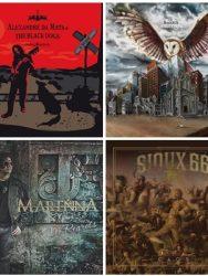Os Melhores álbuns do Rock Nacional de 2016.