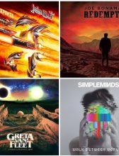 Lista de álbuns – Lançamentos 2018 – Discos de Rock