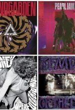 Os 50 Maiores Álbuns do Grunge. – Discos de Rock