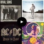 """Playlist Deezer – """"Rock – 2014 – Lançamentos"""