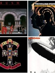"Playlist do Rock – ""Clássicos do Rock"""